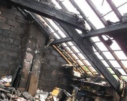 Débarras nettoyage suite à un incendie d'une maison  - Intervention rapide - Vaucluse Gard Drôme Bouches du Rhône