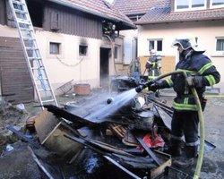Débarras nettoyage suite à un incendie - Intervention Vaucluse Gard Drôme Bouches du Rhône